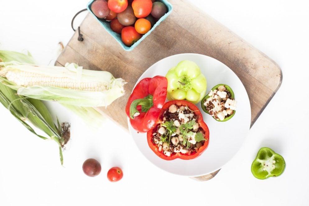 Healthy Recipe: Meatless Stuffed Bell Peppers