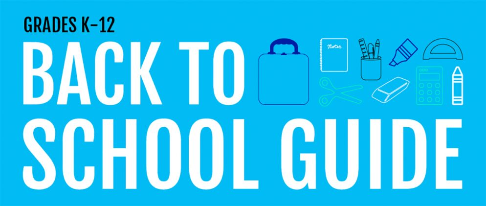 Your Ultimate Back to School Guide: Grades K-12