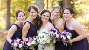 Classic Purple Virginia Wedding Filled With Plenty of Happy Tears