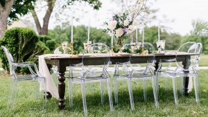 Dreamy and Sophisticated Lavender Styled Shoot at Springfield Manor and Winery