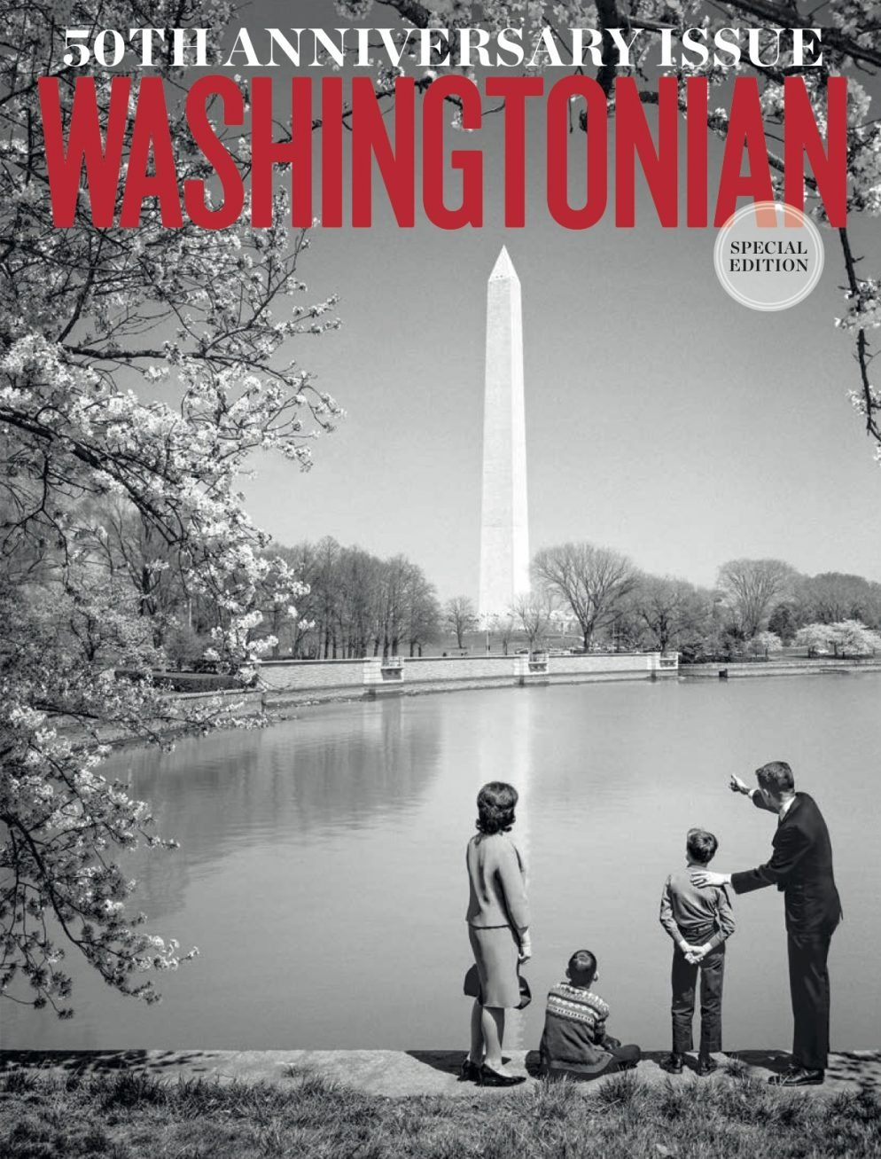 Washingtonian's 50th Anniversary Cover