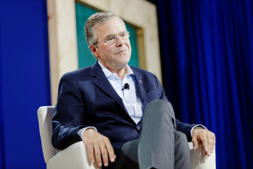 Jeb Bush Doesn't Think Big Donor Dan Snyder Should Change the Redskins' Name