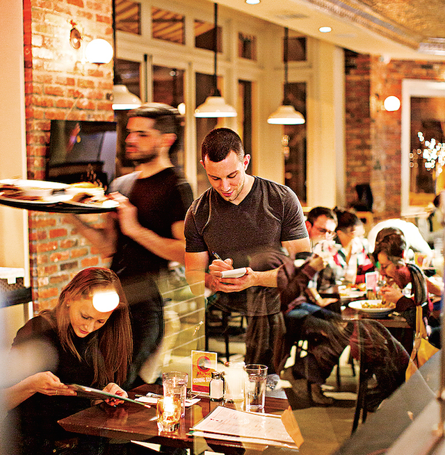 Coffee shops with wifi in DC: The Coupe, like other Tryst Restaurant Group spots, is open early and late.