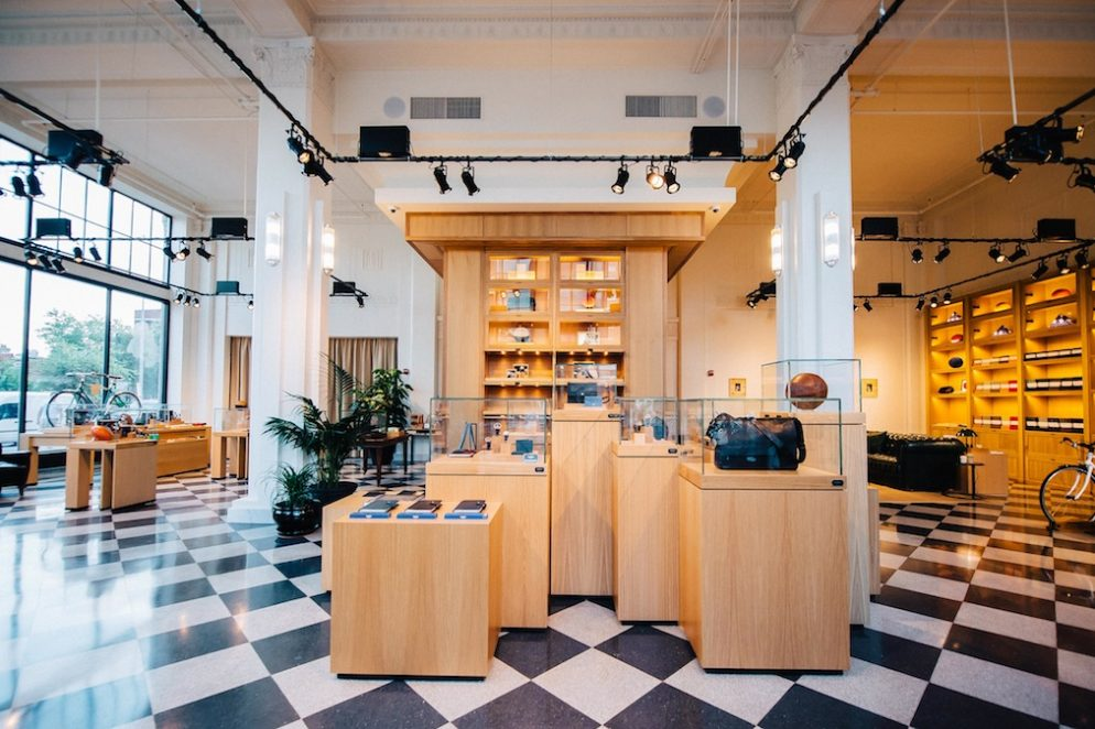 Look Inside Shinola's Gorgeous New DC Storefront on 14th Street