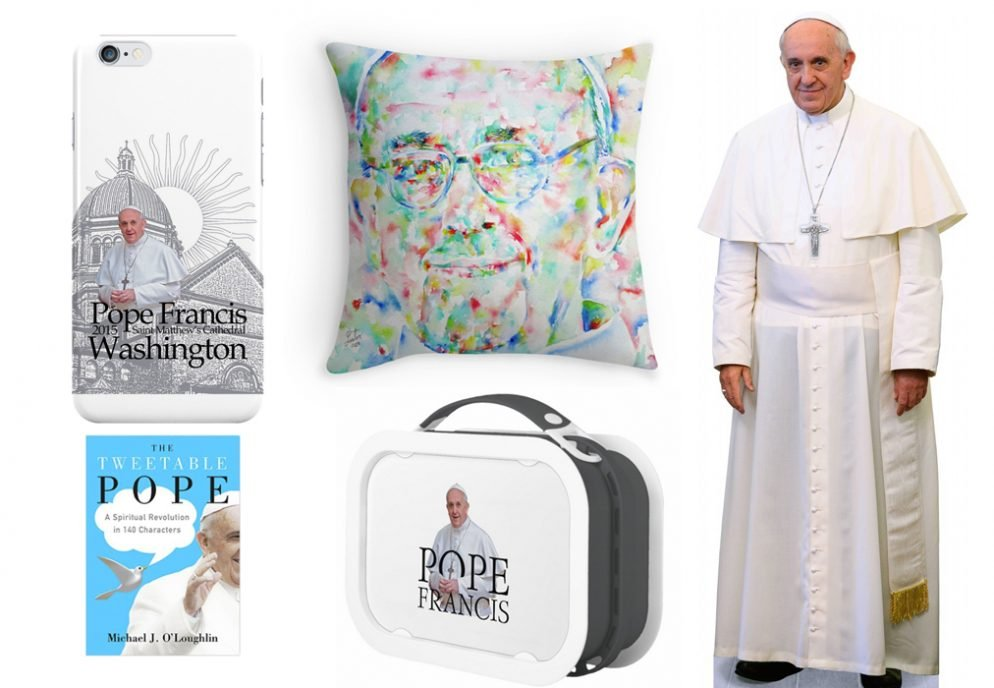 Never, Ever Forget Pope Francis's Trip to DC With These Pope-Related Souvenirs