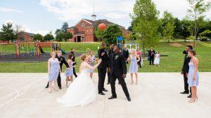 Jeff Green Was a Groomsman in This Georgetown Hoya Basketball Wedding