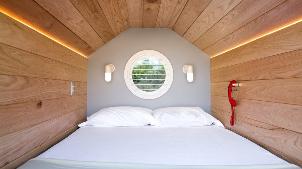 Take a Nap and Listen to Bedtime Stories Inside These Cool Mobile Pods