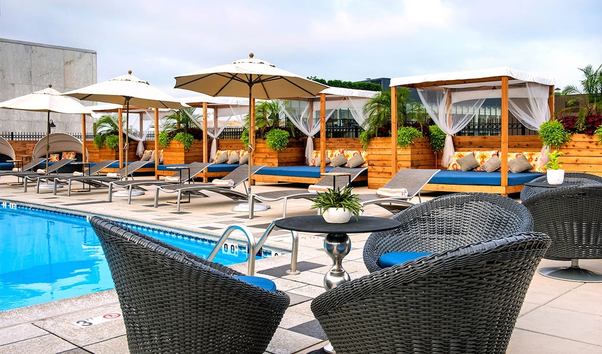 5 Dc Hotel Pools Open To The Public Over Labor Day Weekend