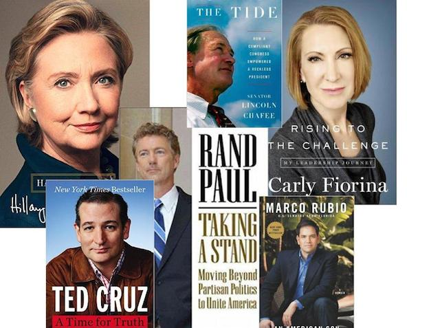 Presidential Candidates Struggle to Stand Out in Book Sales, Too