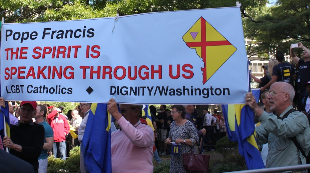 LGBT Catholics Welcome the Pope to DC