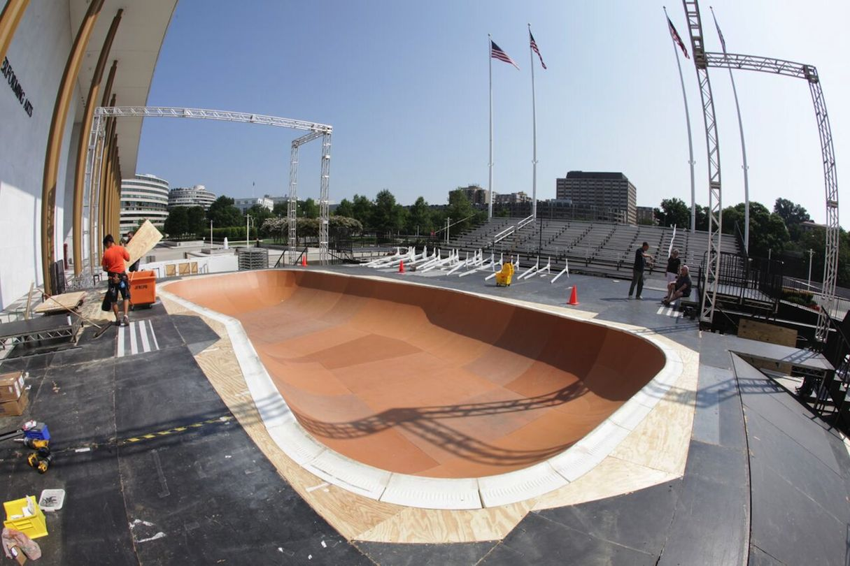 The Kennedy Center Has a Skate Park Now
