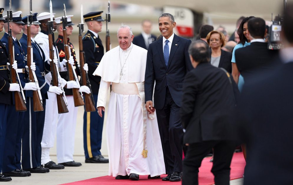 Photos: Pope Francis Arrives in DC