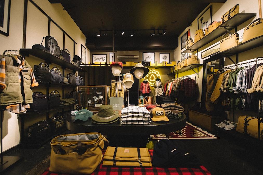 Photos See Inside Filson S New Dc Store Washingtonian