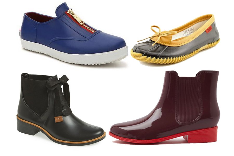 14 Pairs of Stylish Rain Shoes That Are Better Than Rain Boots ...