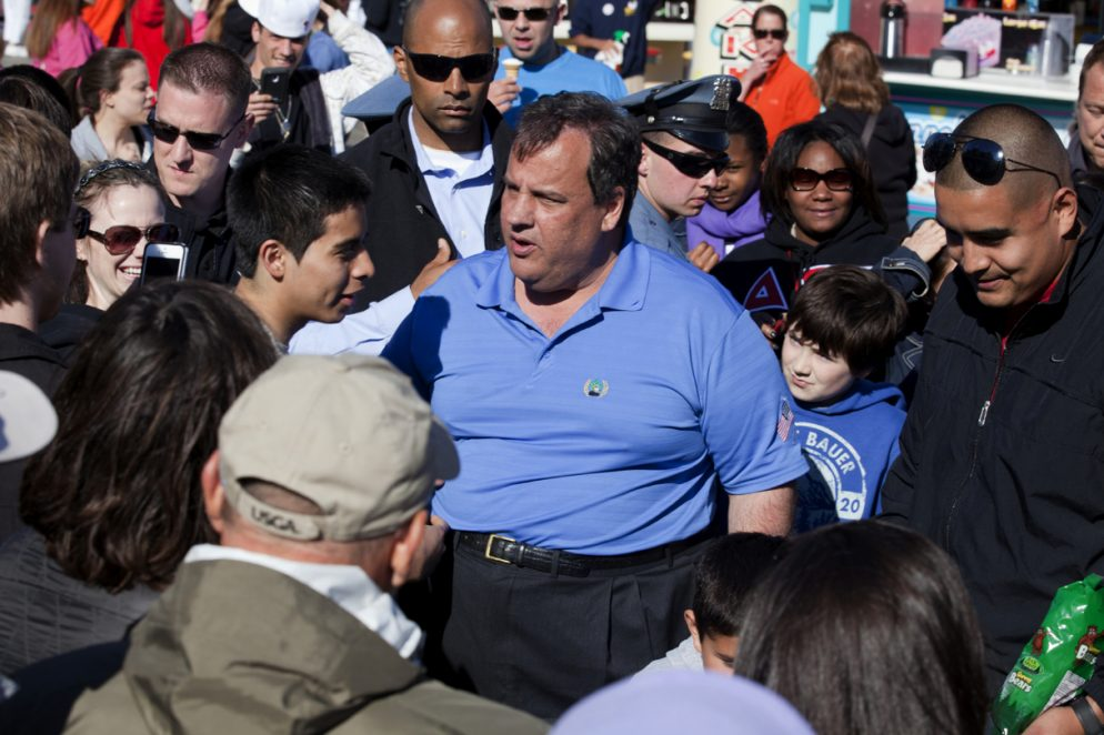 Chris Christie Says He Doesn't Really Think About Statehood for DC