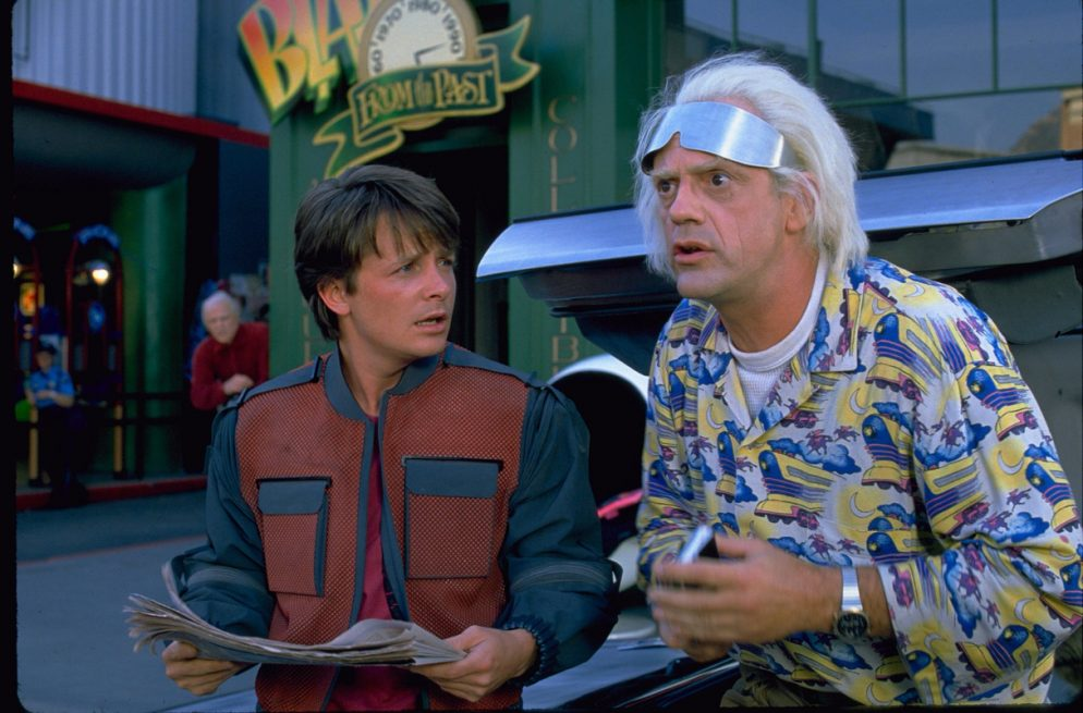 """Here's How You Can Celebrate """"<em>Back to the Future</em> Day"""" in DC"""