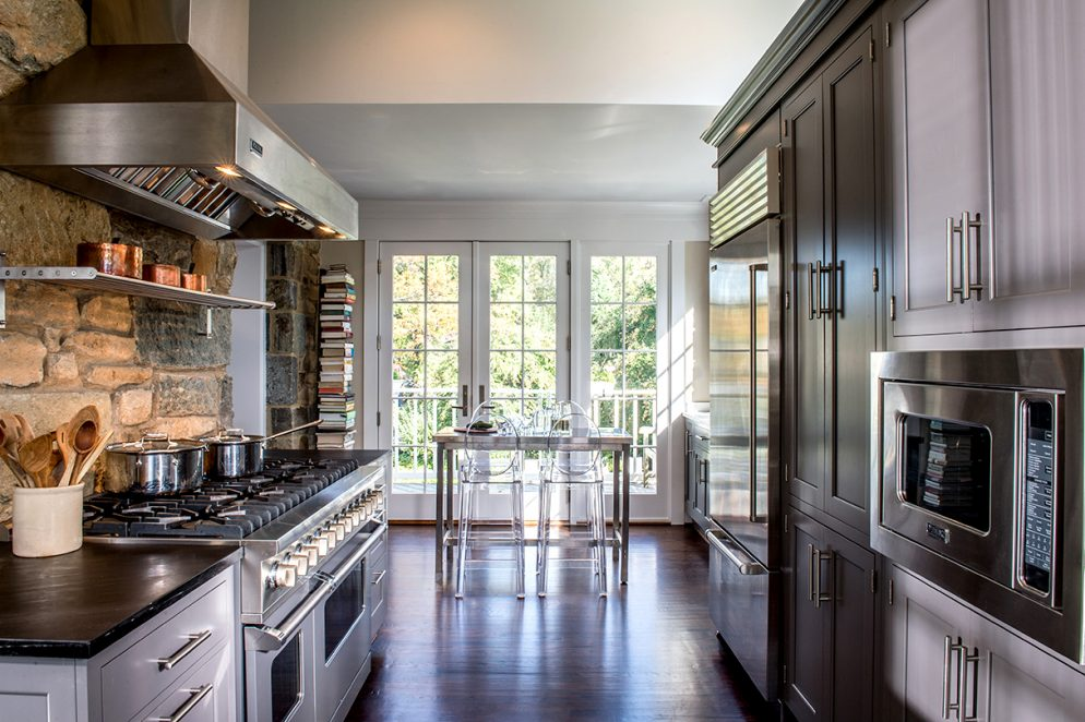 How This Family Turned a Tiny Galley Kitchen Into a Light, Open Space