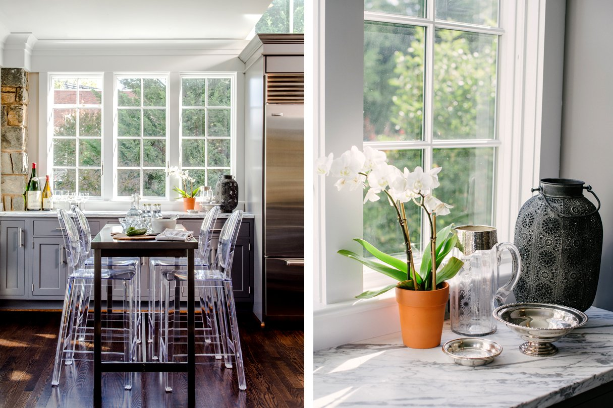 How This Family Turned a Tiny Galley Kitchen Into a Light ...