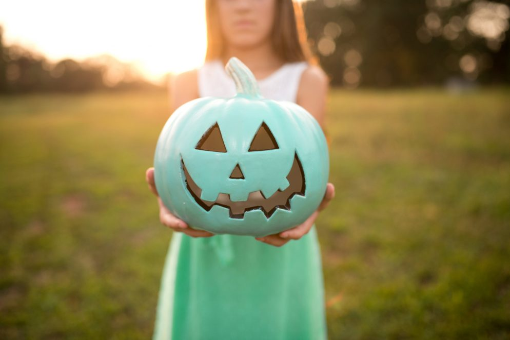 The Teal Pumpkin Project Encourages Non-Food Treats for Halloween