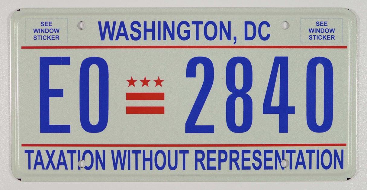 DC License Plates Through the Years | Washingtonian