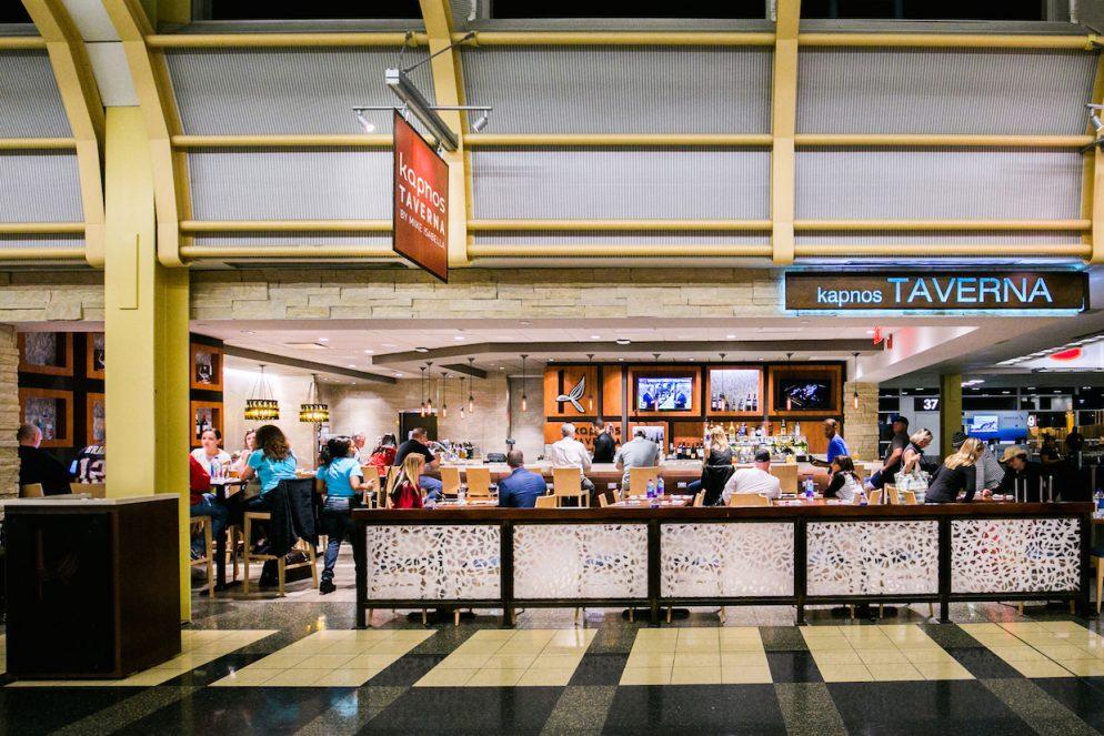 Mike Isabella's Kapnos Taverna is Open at Reagan National Airport