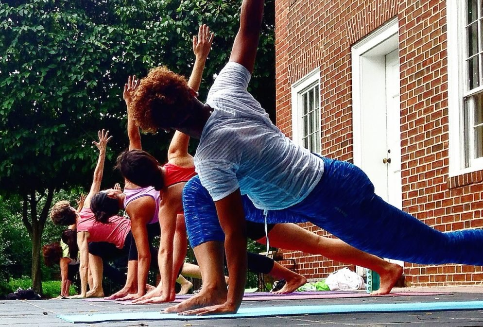 Things to Do in DC This Weekend October 22-25: Yoga in the Park at Dumbarton House
