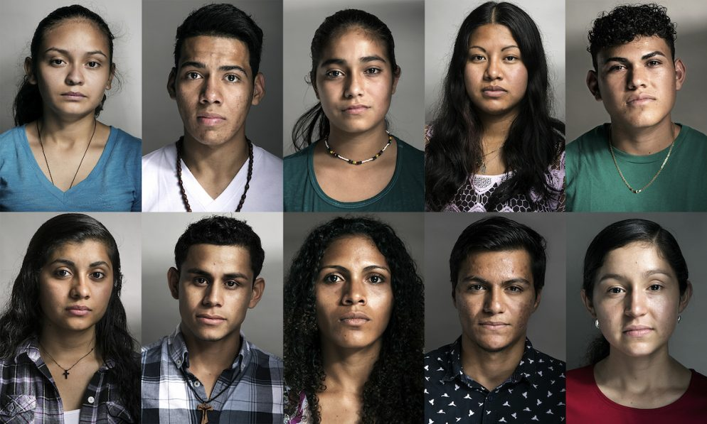 Local Photographer Takes Stunning Portraits of Young People Who Crossed into the US Alone