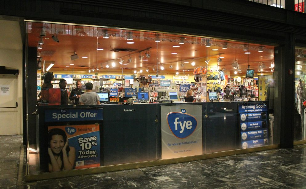 How Does f.y.e. Hold On in Washington While Other Chain Stores Vanish?