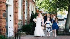 Preppy Navy and White Wedding at Georgetown's Sequoia