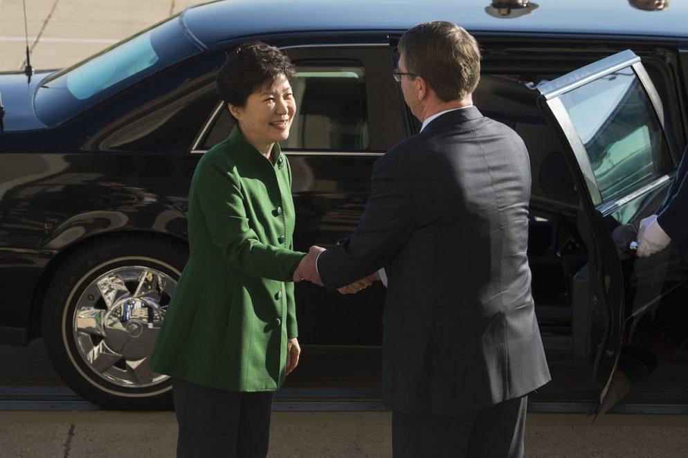 Why <em>Washington Post</em> Print Readers Saw So Many Ads Welcoming South Korea's President