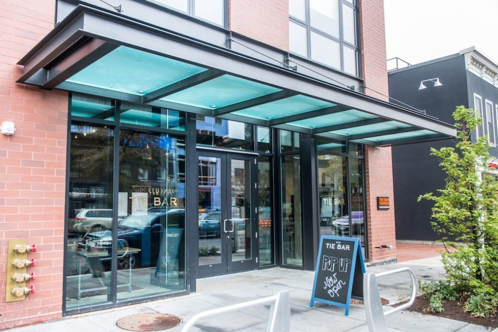 See Inside The Tie Bar Pop-Up at The Shay