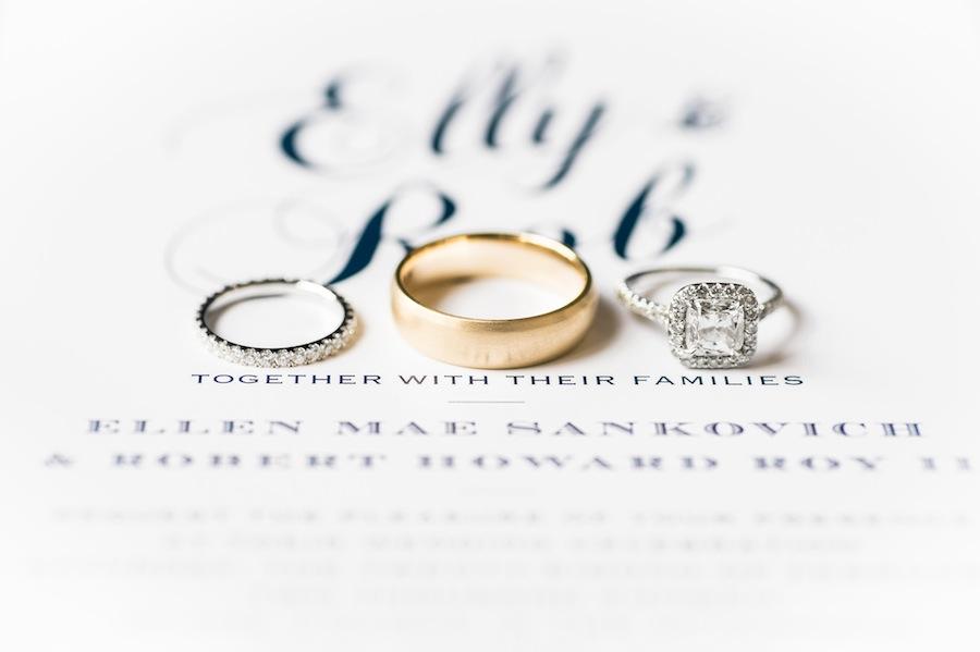 Wedding Rings Cincinnati 65 Perfect Navy and Gold Wedding