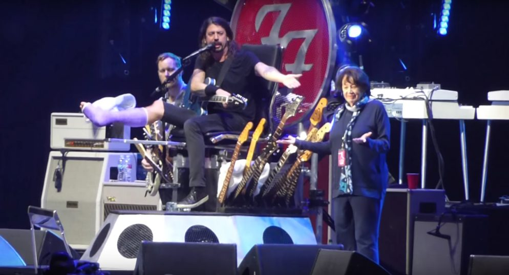 Dave Grohl's Mom Is Writing a Book About Other Rock Moms