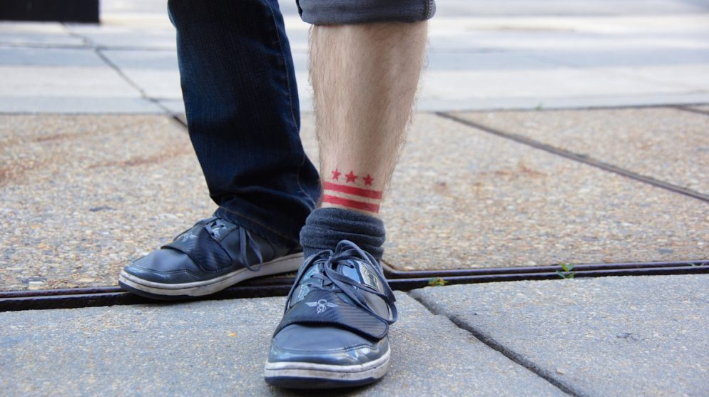 The DC Flag Tattoo Is Over