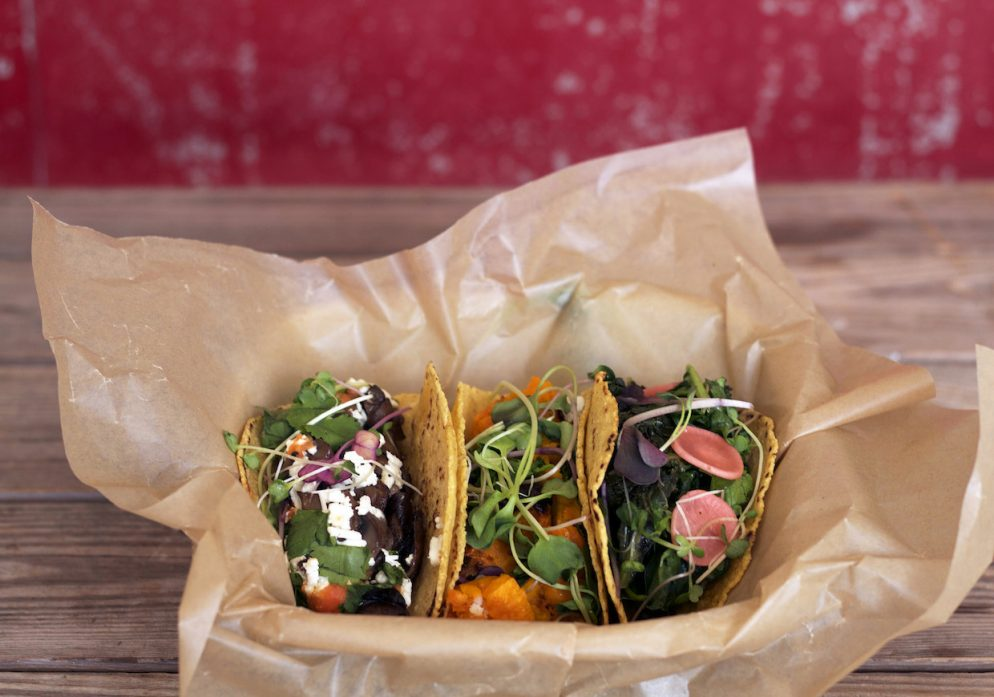Chaia is Open and Serving Vegetarian Tacos in Georgetown