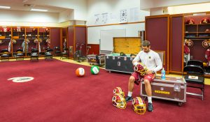 Photos: What the Redskins Locker Room Looks Like Just Hours Before a Game