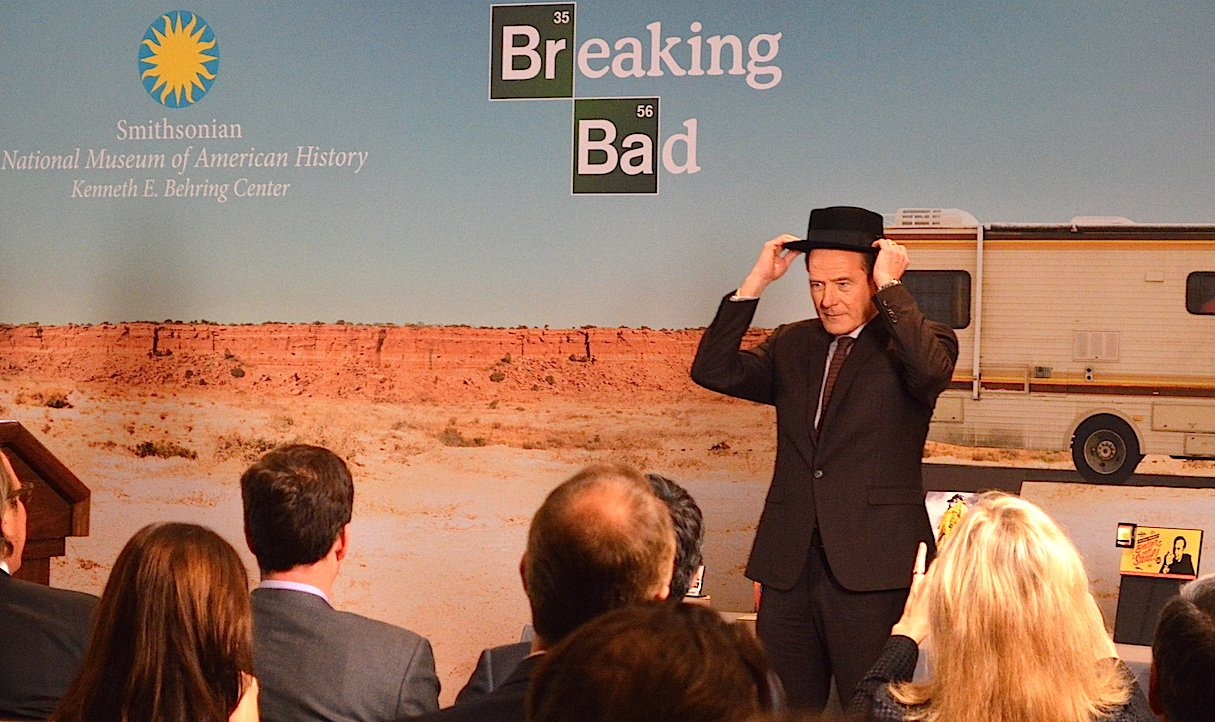 <em>Breaking Bad</em> Donates Props to the National Museum of American History