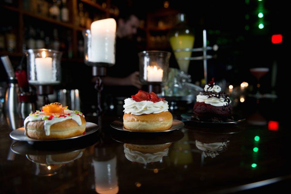 Captain Gregory's Speakeasy is Serving Doughnut Sliders and Sundaes