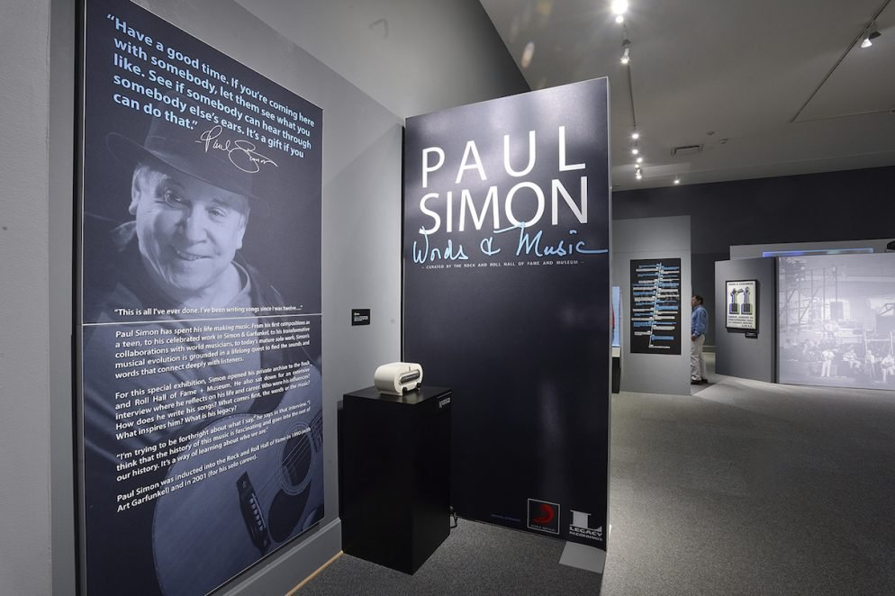 Paul Simon's First Museum Exhibition Is in Maryland Right Now