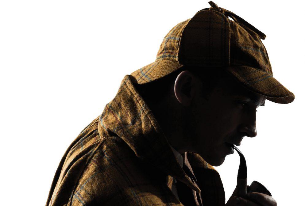 David Arquette Stars in <em>Sherlock Holmes</em> at the Warner Theatre