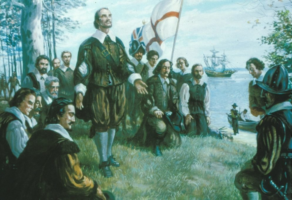 The First Thanksgiving Took Place in Virginia, not Massachusetts