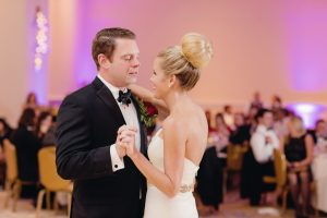 A Very Festive Red and Gold Christmas Wedding at Gaylord National Resort