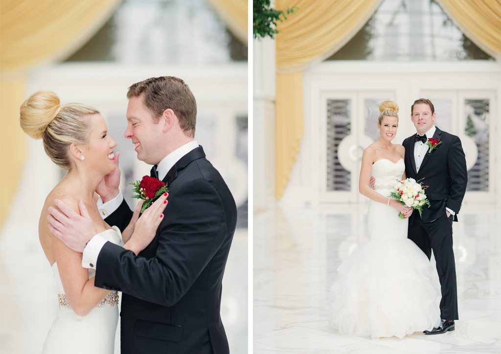 A Christmas Wedding Date.A Very Festive Red And Gold Christmas Wedding At Gaylord