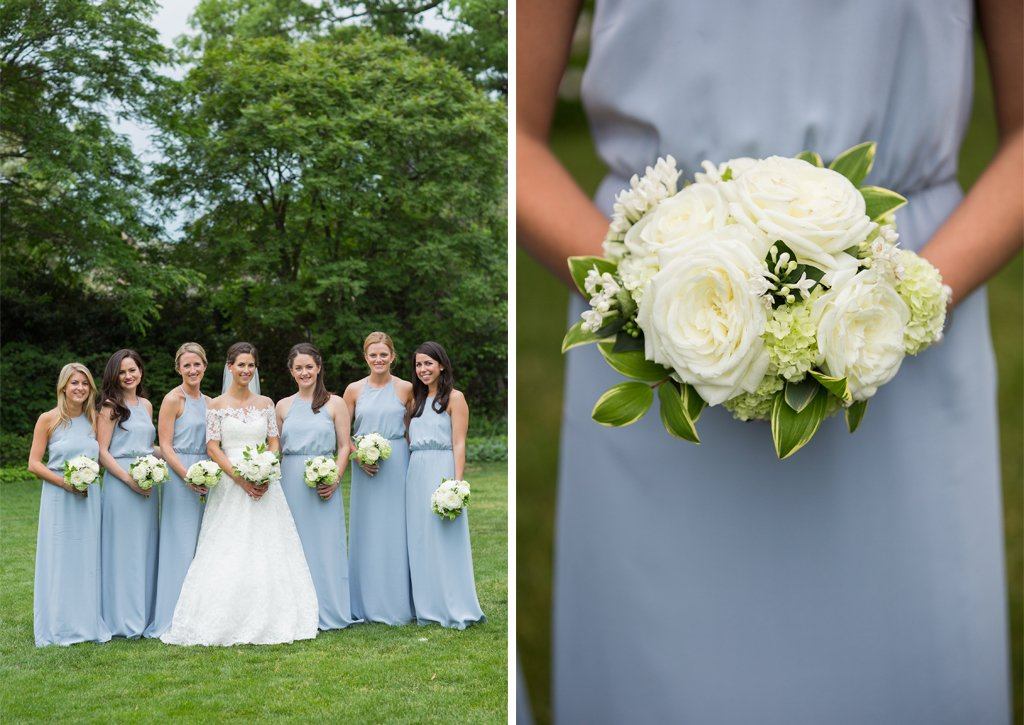 Dreamy Blue and Green Wedding at Decatur House | Washingtonian