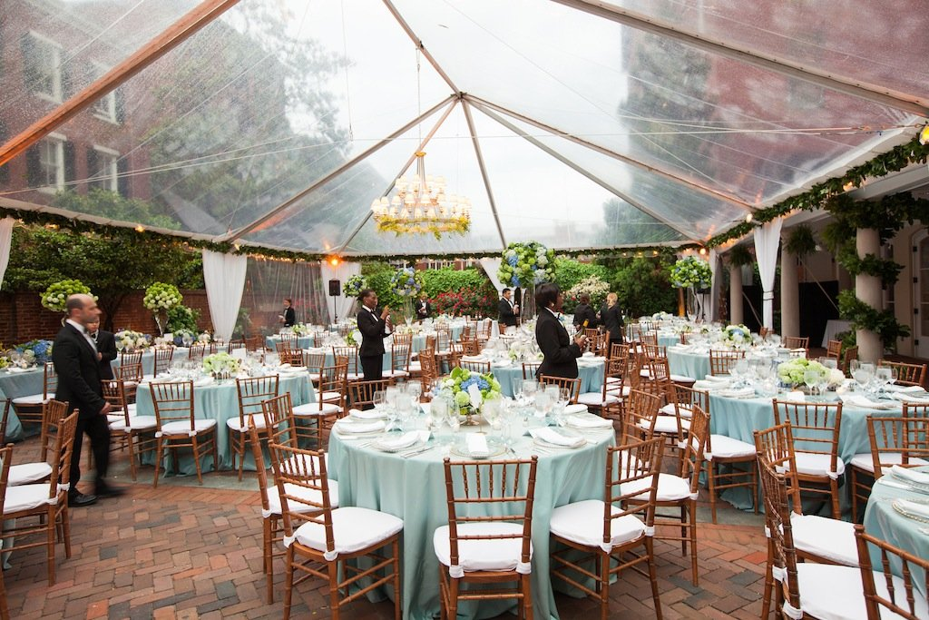 Dreamy Blue And Green Wedding At Decatur House Washingtonian