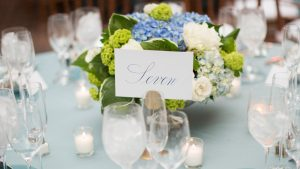 Dreamy Blue and Green Wedding at Decatur House