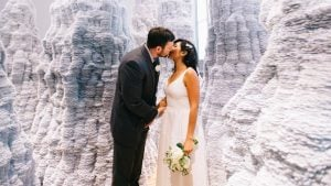 This Couple Got Married at the Most Instagrammable Spot in DC