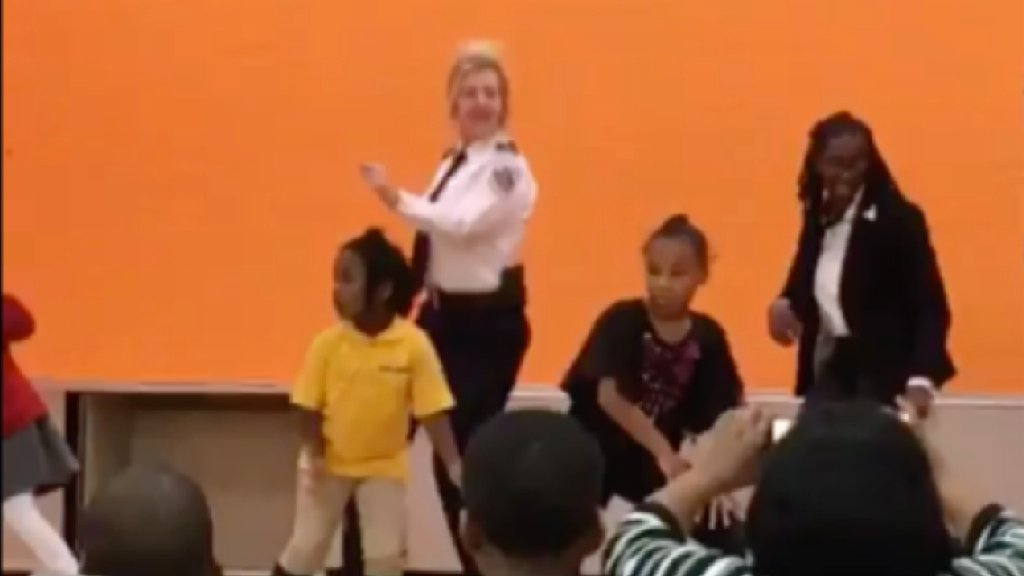 Another DC Cop Dances on Camera