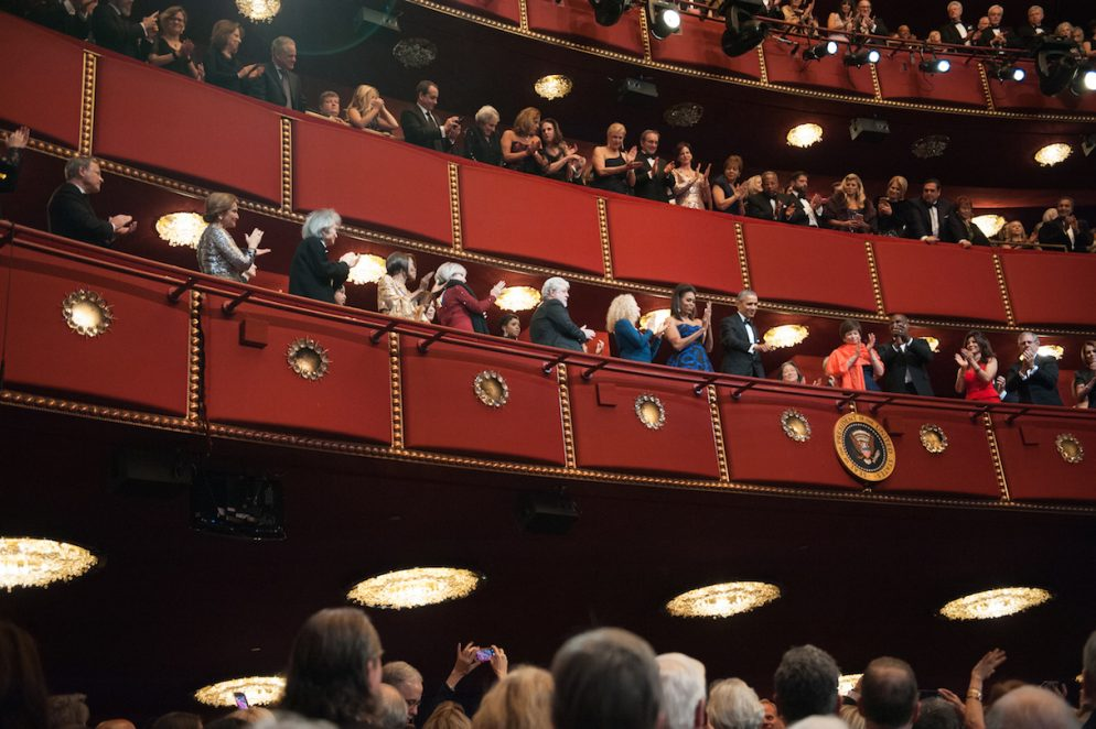 There Was a Standing Ovation Every 12.5 Minutes at the 38th Kennedy Center Honors