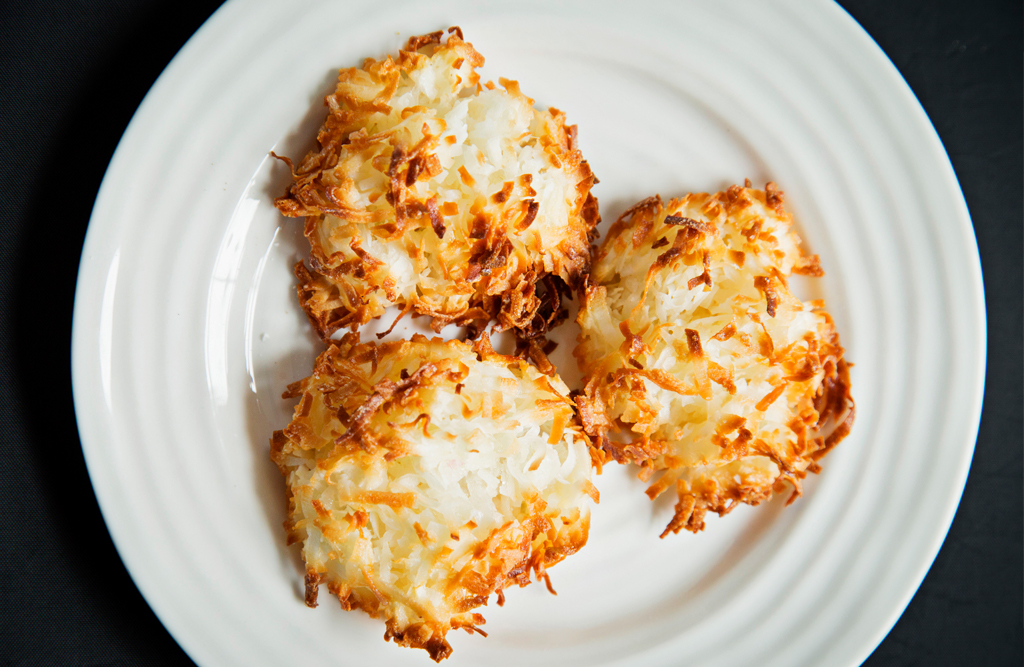 Coconut macaroons. Photo courtesy of Rare Sweets.